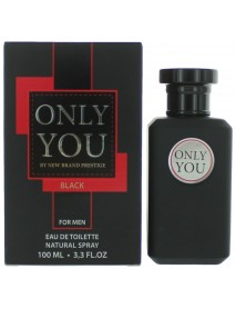New Brand Only You BLACK for Men 100 ml EDT