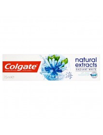 Colgate Natural Extract Radiant White zubná pasta 75 ml + kefka