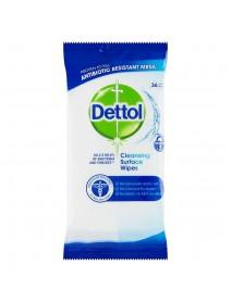 Dettol antibakteriálne obrúsky na povrchy 36 ks