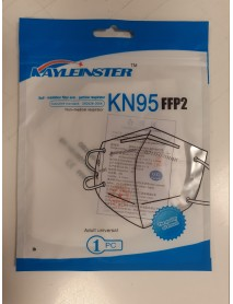 KAYLEINSTER RESPIRÁTOR FFP2/KN95 BIELY 1ks
