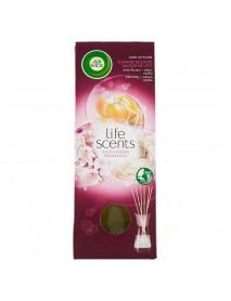 Air Wick vonné tyčinky Life Scents melón, vanilka a biele kvety 30 ml