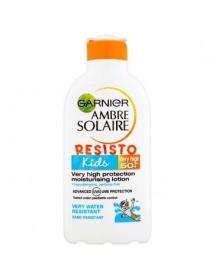 Garnier Ambre Solaire Resist Kids mlieko na opaľovanie SPF 30+ 200 ml