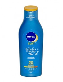 Nivea Sun Schutz & Frische hydratačné mlieko na opaľovanie SPF20 200 ml