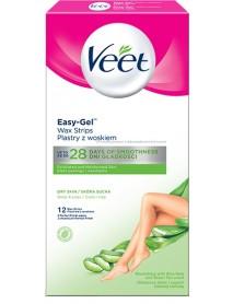 Veet Natural Inspirations Legs & Body voskové pásiky 12 ks
