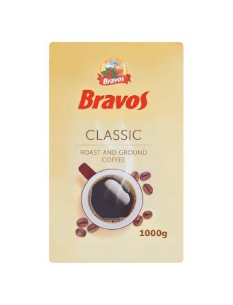 Bravos Classic mletá káva 1KG