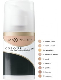 Max Factor Colour Adapt Skin Tone Adapting, 50 Porcelain