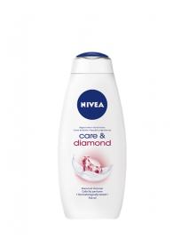 Nivea Care & Diamond krémový sprchový gel 750 ml