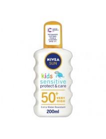 Nivea Sun Kids Sensitive Spray 50+ 200ml