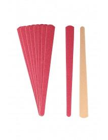 Šmirgľový pilník obojstranný 15 cm,10 ks