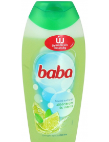 Baba sprchový gél zelený citón s mätou 400 ml