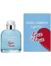DOLCE & GABBANA LIGHT BLUE LOVE IS LOVE 125 ML
