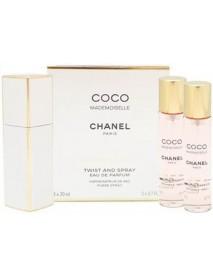Chanel Coco Mademoiselle 3x20 ml EDP s rozprašovačom WOMAN