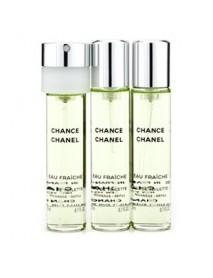 Chanel Chance Eau Fraiche 3x20 ml EDT náplne WOMAN
