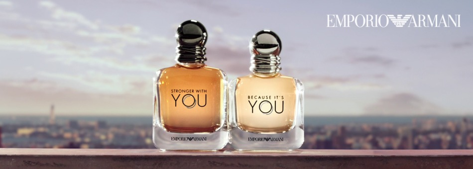 Armani Because It´s You Stronger with you